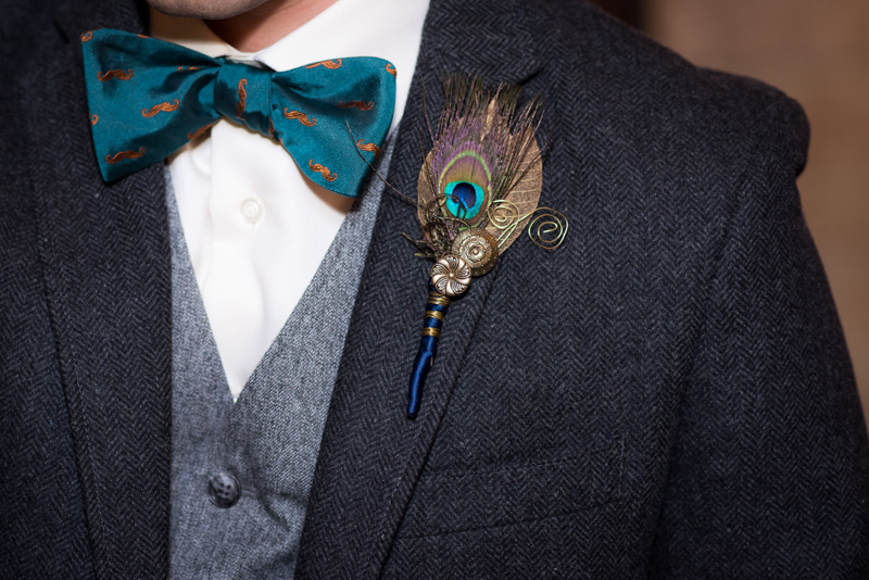 bowtie-and-peacock-boutineer
